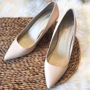 Madden girl BaeBae light pink heels 7.5